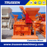 De tweeling Machine van de Bouw van de Concrete Mixer van de Schacht voor Verkoop