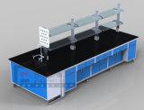 教室のためにセットされる現代デザイン化学実験室ベンチの家具