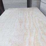 Madera contrachapada de la decoración de la madera contrachapada del pino del grado 1220mm*2440m m de C/C
