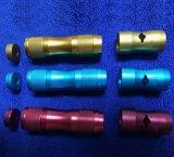 Accessori di alluminio di E-Cig con il pezzo meccanico di CNC