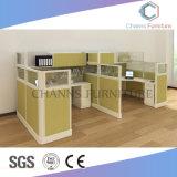 Stazione di lavoro di legno dell'ufficio del cubicolo della mobilia moderna