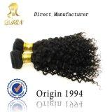 최신 Sell 5A Grade Quality Kinky Curly Hair Weaves, 100 Human Hair,