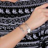 Neues angekommenes hohles Liebes-Armband des Edelstahl-3.2cm