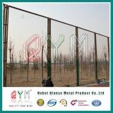Cerca galvanizada revestida PVC da ligação Chain/cerca preta por atacado da ligação Chain
