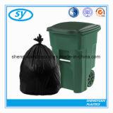 Sac d'ordures en plastique de fabrication d'usine sur le roulis