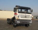 Beiben 380HP 10の車輪のトラクターのトラック