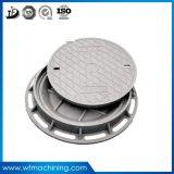 하수구 하수구를 위한 맨홀 뚜껑의 둘레에 경첩을 다는 OEM 철 주물