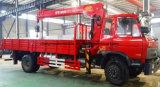 Dongfeng 4*2 подъемного крана грузового автомобиля для продажи погрузчика