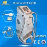 Máquina da beleza da remoção do cabelo do laser IPL RF Elight do diodo (MB810D)