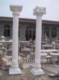 Roman Marmeren Pijler van /Stone van de Pijler van de Kolom van /Stone van de Kolom Marmeren