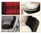 Elektrische Hals en het Achter het Kneden Shiatsu Kussen van de Massage van de Zetel van de Auto