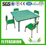As crianças de alta qualidade mesa e cadeira para crianças de mobiliário de jardim de infância usado (SF-23C)