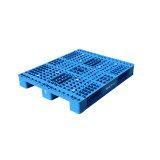 Entrée à 4 voies côté unique durable de la surface de maillage palette plastique pour rayonnage à palettes