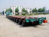 100-300ton hydraulische Gooseneck die Modulaire Aanhangwagen sturen