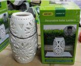 Lanterna solare di ceramica