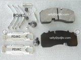 Zapatas de freno resistentes del carro Wva29165