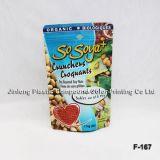 Прокатанный PE/Nylon мешок упаковки еды