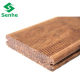 Le sol en bambou prix d'usine étanche avec le sol en bambou Wovne Strand