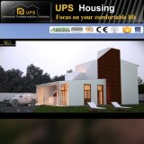 Épreuve préfabriquée moderne de luxe modulaire verte de désastre de Chambre et de villa
