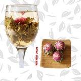 Чай чая цветка китайского качества Hight зацветая ручной работы китайский чай флейвора