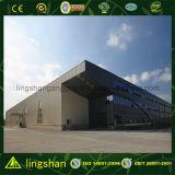 Almacén prefabricado del panel de emparedado de la estructura de acero (LS-SS-013)