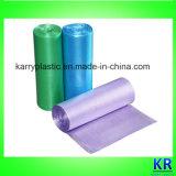 Farbige HDPE Abfall-Beutel