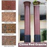 Bianco / Grigio / Nero / Rosso / rosa / marrone / giallo / beige lucido piastrelle di granito per pavimenti e rivestimenti
