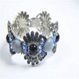Nuevo elemento resina de vidrio acrílico Piedras Collar bisutería Moda