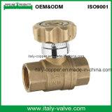Válvula de bola forjada de latón bloqueable (AV10059)