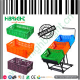 Obst und Gemüse Foldable Plastic Crates Basket Box