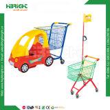 Preiswerter Plastikpuder-Beschichtung-Lebensmittelgeschäft-Einkaufswagen