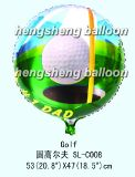 Круглый воздушный шар фольги (10-SL-153)