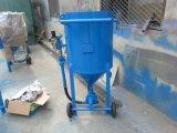 Arenadores industriales de la arena que pulen con chorro de arena el tanque del crisol/del chorro de arena
