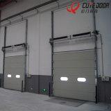 Гальванизированная пакгаузом дверь секционного автоматического промышленного гаража PU стали нутряная