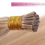 Indian Natural Remy Extensões de cabelo humano I Tip Keratin Fusion Hair