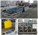 Ligne de machine d'extrusion de production de plume en PVC et de mousse de PVC