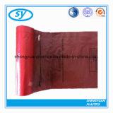 Толщиные пластичные цветастые мешки отброса