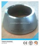 Reductor concéntrico del acero inoxidable de la autógena de tope del ANSI B16.9 316L