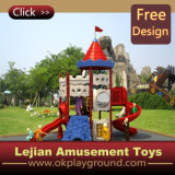 CE 2015 Kidsland Plastic Kids Outdoor Playground (12078A)