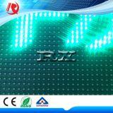 Modulo esterno dello schermo della visualizzazione P10 LED del testo di colore verde