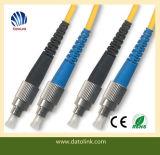 繊維光学パッチケーブルはFC UpcFC Upc Smのデュプレックスを導く