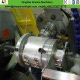 柔らかいPVC透過鋼線の螺線形のホースの押出機機械