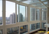 Qualitäts-thermischer Bruch-schiebendes Aluminiumfenster für Sumroom