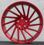 La aleación de aluminio de Vossen de la reproducción del coche rueda bordes