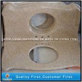 China Granito amarillo G682 Vanity Top / Countertop