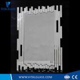 Vielseitiger Rahmen-dekorativer silberner Bann-Spiegel