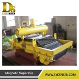 Dispositivo di rimozione elettromagnetico del ferro della cinghia del trasportatore a raffredamento automatico della traversa fatto in Cina