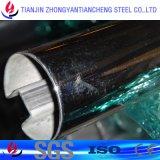 316L/1.4404 Polished ha saldato il tubo dell'acciaio inossidabile nell'uso della decorazione