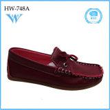 Zapatos ocasionales de la venta caliente de la manera de la alta calidad para los niños pequeños