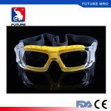 Les yeux protègent choc en verre de sports de basket-ball l'anti avec Fxa016 personnalisé par lentille myope